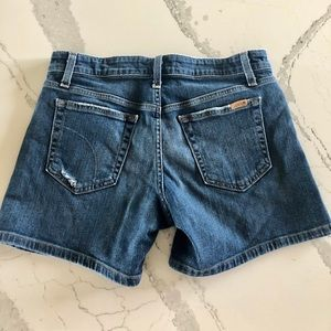Joe' Jean Petra shorts size 27